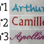Modulit - Coffret naissance personnalisé 4 pièces! Cape de bain + Bavoir + Protège carnet de santé + Doudou (Gris) de la marque MODULIT image 1 produit