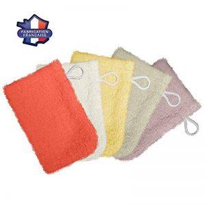 Modulit* - Lot de 5 petits gants de toilette d'apprentissage pour bébé/enfant (Multicolore) Fabrication Française de la marque MODULIT image 0 produit