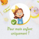 Modulit* - Lot de 5 petits gants de toilette d'apprentissage pour bébé/enfant (Multicolore) Fabrication Française de la marque MODULIT image 2 produit