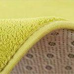 Morbuy Tapis Rond Lavable en Machine 100 cm Polaire de Corail Interieur Anti Slip Chambre à Coucher Salon Tapis d'Entrée Absorbant Antidérapant Nouveau Imprimé Ménage Rug Salle Couloir (Gris Argent) de la marque Morbuy image 3 produit