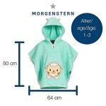 Morgenstern Poncho pour bébé et Enfant de 1-3 Ans 100% Coton Tissue éponge Taille Uniforme Serviette de Bain avec Capuche de la marque Morgenstern image 3 produit