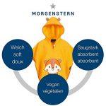 Morgenstern Poncho pour bébé et Enfant de 1-3 Ans 100% Coton Tissue éponge Taille Uniforme Serviette de Bain avec Capuche de la marque Morgenstern image 4 produit