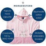 Morgenstern Poncho pour bébé et Enfant de 1-3 Ans 100% Coton Tissue éponge Taille Uniforme Serviette de Bain avec Capuche Motif Lapin de la marque Morgenstern image 2 produit