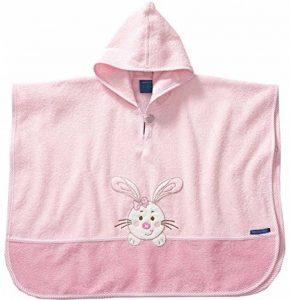 Morgenstern Poncho pour bébé et Enfant de 1-3 Ans 100% Coton Tissue éponge Taille Uniforme Serviette de Bain avec Capuche Motif Lapin de la marque Morgenstern image 0 produit