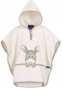 Morgenstern Poncho pour bébé et Enfant de 1-3 Ans 100% Coton Tissue éponge Taille Uniforme Serviette de Bain avec Capuche Motif âne de la marque Morgenstern image 0 produit