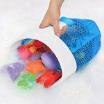 Munchkin - Filet de rangement et de rangement pour jouets de bain Super Scoop, gris de la marque Munchkin image 2 produit