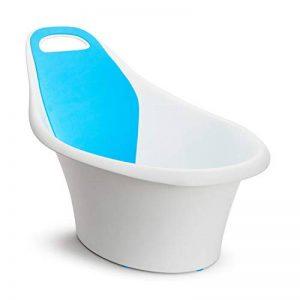 Munchkin - Sit and Soak, Baignoire Ergonomique Bébé, blanc/bleu de la marque Munchkin image 0 produit