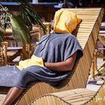 musegear Poncho Surf Adulte Cabine Mobile pour Se Changer - Taille Unique - Orange/Anthracite – 2-en-1 : Peignoir de Bain Douillet et Cabine Pratique pour Se Changer - Tendance et utile de la marque musegear image 4 produit