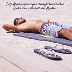 musegear Poncho Surf Adulte Cabine Mobile pour Se Changer - Taille Unique - Orange/Anthracite – 2-en-1 : Peignoir de Bain Douillet et Cabine Pratique pour Se Changer - Tendance et utile de la marque musegear image 3 produit