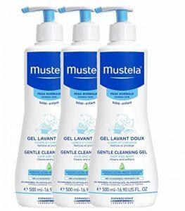 Mustela Gel Lavant Doux Lot de 3 x 500 ml de la marque Mustela image 0 produit