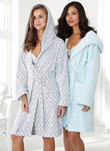 MyHome Peignoir à Capuche Taille L 607615 Peignoir de Sauna pour Femme en Coton éponge de la marque MyHome image 0 produit