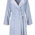 MyHome Peignoir à Capuche Taille L 607615 Peignoir de Sauna pour Femme en Coton éponge de la marque MyHome image 1 produit