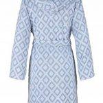 MyHome Peignoir à Capuche Taille L 607615 Peignoir de Sauna pour Femme en Coton éponge de la marque MyHome image 2 produit