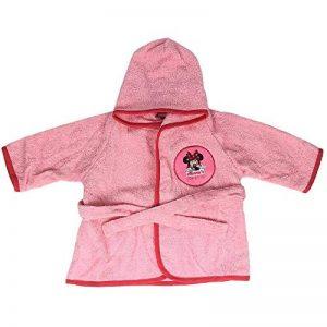 NADA HOME Peignoir Manches Baby Minnie Bébé Disney 100% éponge Coton avec Broderie Rose 18Months de la marque NADA HOME image 0 produit