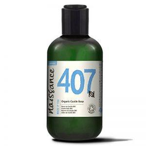 Naissance Savon de Castille Liquide BIO (n° 407), naturel et sans parfum - 250ml - végan, sans SLS ni SLES de la marque Naissance image 0 produit