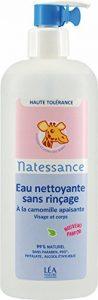 Natessance Bébé Naturel Eau Nettoyante sans Rinçage 500 ml de la marque Natessance image 0 produit