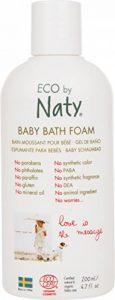 Naty Mousse de bain écologique pour bébé hydratant sans parfum bio bio 200 ml de la marque Naty image 0 produit