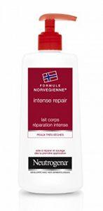 Neutrogena Intense Repair Lait Corps – Formule Norvégienne pour une peau hydratée et douce – 1 x flacon pompe de 400 ml de la marque Neutrogena image 0 produit