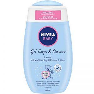 Nivea Baby Gel Lavant Douceur Cheveux/Corps 200 ml - Lot de 2 de la marque NIVEA-BABY image 0 produit