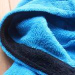 [Nom brodé] Robe de bain pour enfants bleu velours de corail Chemise de nuit garçon chaud de la marque FEETOO image 2 produit