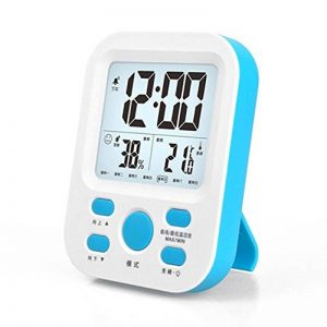 NSHK Numérique Température Humidité Mètre Ménage Haute Précision Lumineux Thermomètre Hygromètre De Bureau et Suspendu Thermomètre Hygromètre pour la chambre de bébé avec Multifonction de la marque NSHK image 0 produit