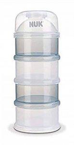 NUK Boîte Doseuse à Poudre de Lait, 4 compartiments de la marque Nuk image 0 produit