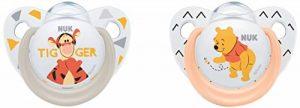 NUK Succettes Winnie l'ourson Trendline, 6-18 Mois, Sans BPA, Set de 2 de la marque Nuk image 0 produit