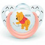 NUK Succettes Winnie l'ourson Trendline, 6-18 Mois, Sans BPA, Set de 2 de la marque Nuk image 2 produit