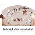 NUOAO Baignoire pour BéBé Pliable Gonflable Enfant, Piscine Gonflable, Bassine pour Enfant Et BéBé (0-4 Ans), SéCurité Et Portable avec Gonfleur (Marron) de la marque NUOAO image 3 produit