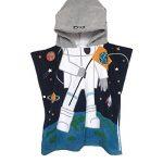 OKSakady Serviette de Bain à Capuchon de Plage Fille Garçon, Serviette de Bain à Capuchon de Coton Enfant Absorbante (Astronaute) de la marque OKSakady image 3 produit