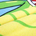 """Orsit Serviette de Bain avec Capuchon de Plage pour Enfants de 2 à 8 Ans - Cape de Poncho avec recouvrement de Piscine - Usage Multiple pour Le Bain/la Douche/la Piscine 24""""x 48""""(Crocodile) de la marque Orsit image 4 produit"""