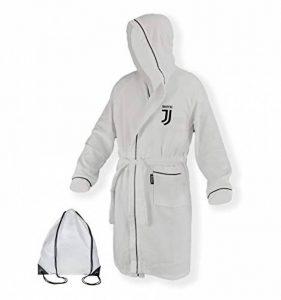 Peignoir adulte original Juve Juventus Microspugna en blanc noir–XXL de la marque tex-family image 0 produit