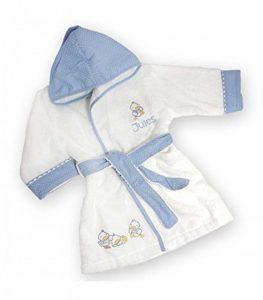 Peignoir bébé Canards personnalisé avec Le prénom de l'enfant de la marque Vanevitch image 0 produit