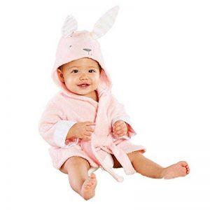 Peignoir Bébé À Capuche, Dessin animé Pyjama Dinosaure Manches Longues Peignoir Animal Mignon Pajamas Clothes de la marque KUKICAT image 0 produit