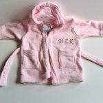 peignoir bébé fille personnalisable TOP 0 image 2 produit