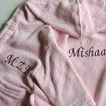 peignoir bébé fille personnalisable TOP 0 image 4 produit