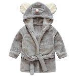 peignoir bébé personnalisé carré blanc TOP 0 image 1 produit
