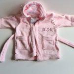 peignoir bébé personnalisable TOP 1 image 1 produit