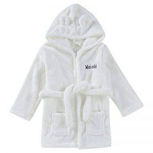 peignoir bébé personnalisable TOP 11 image 0 produit