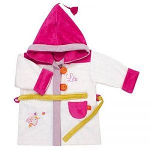 Peignoir bébé à personnaliser avec le prénom de votre petite fille - 2/4 ans - Peignoir L'Oiseau Bateau de la marque Enja image 0 produit