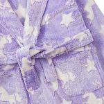 Peignoir à Capuche en Polaire Doux au Toucher pour Fille Motif Licorne Violet 2 3 4 5 6 7 8 9 10 11 12 13 Ans de la marque Jolly-Rascals image 1 produit