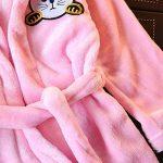 Peignoir à Capuche pour Bébé Fille ou garçon 1-5 Ans, Pyjamas Enfants Animaux Chat Hooded Doux Chemise de Nuit Robes de Chambres Kimonos Vêtements de Nuit BaZhaHei de la marque BaZhaHei+vtements+de+nuit image 3 produit