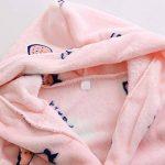 Peignoir à Capuche pour Enfants Unisexe Automne et Hiver Doux Flanelle Robe de Nuit Robes de Bain 3-8 Ans de la marque Runyue image 1 produit