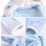 Peignoir à Capuchon épais pour Filles pour garçon, Pyjama Lapin et Ours (Taille 2, Enfant de Moins DE 14 Ans) de la marque ABClothing image 2 produit