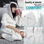 peignoir coton blanc TOP 8 image 2 produit
