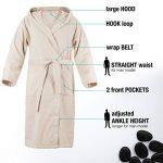 peignoir coton personnalisé TOP 8 image 1 produit