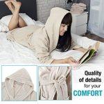 peignoir coton personnalisé TOP 9 image 2 produit