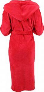 Peignoir d'intérieur à capuche pour enfant en microfibres, couleurs: bleu ou rouge size 140 / rouge de la marque BETZ image 0 produit