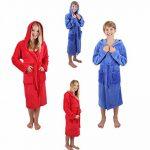 Peignoir d'intérieur à capuche pour enfant en microfibres, couleurs: bleu ou rouge size 140 / rouge de la marque BETZ image 4 produit
