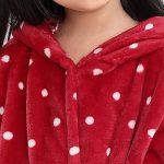 Peignoir de Bain avec Capuche Enfant Robe de Chambre Cartoon Animal Motif Coral Polaires de la marque Icegrey image 3 produit